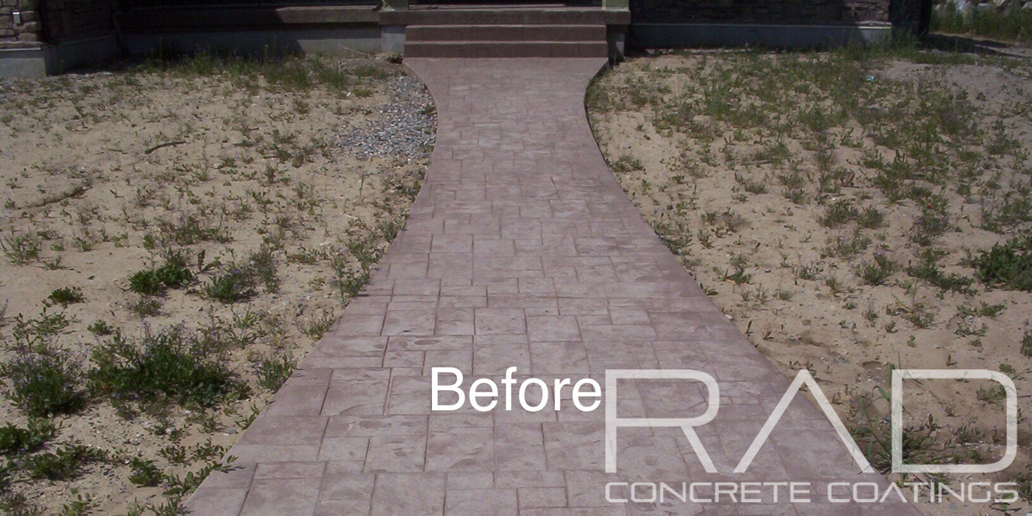 Utah Concrete Sealing Project Photo Gallery Rad Coatings