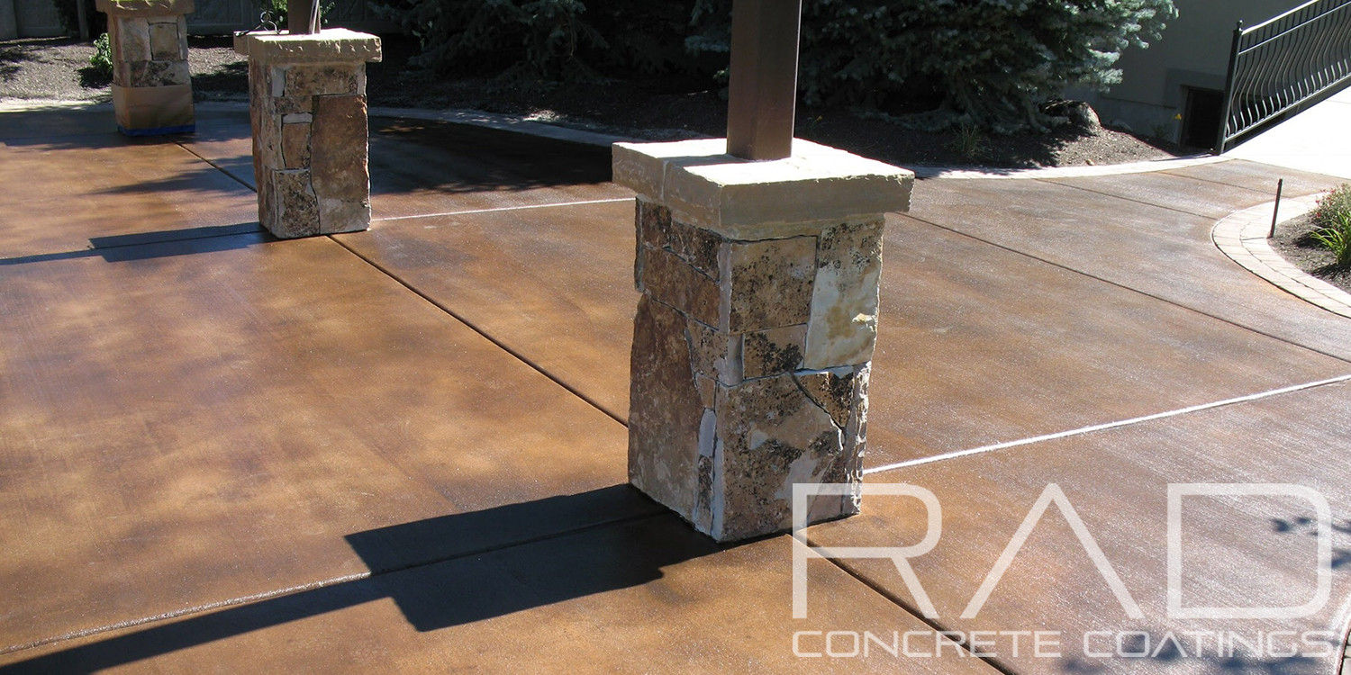 Exterior concrete staining gallery rad concrete coatings Exterior concrete floor coatings