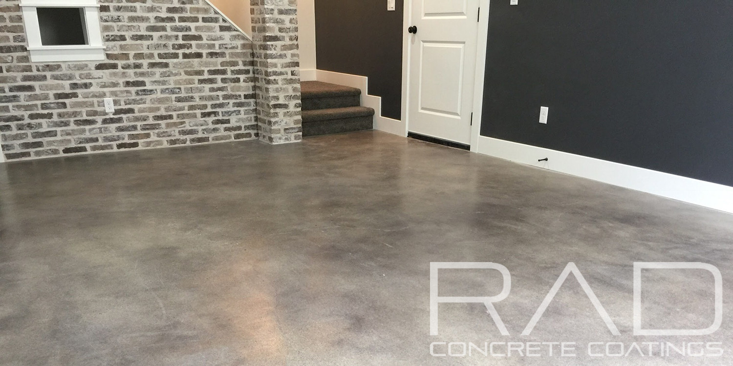Indoor Concrete Staining Photos Rad Concrete Coatings