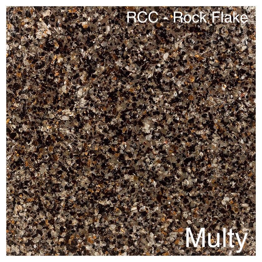 Rock Flake Color Samples | Rad Concrete Coatings in Utah