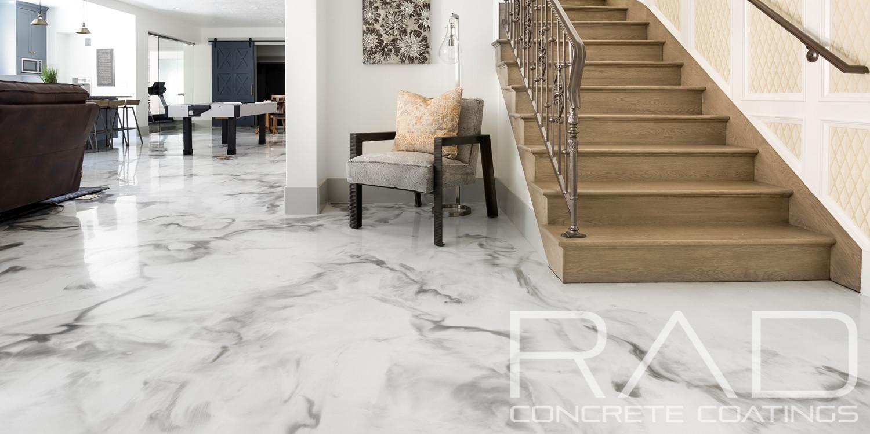 Metallic Epoxy Floor Coating | Rad Concrete Coatings Utah